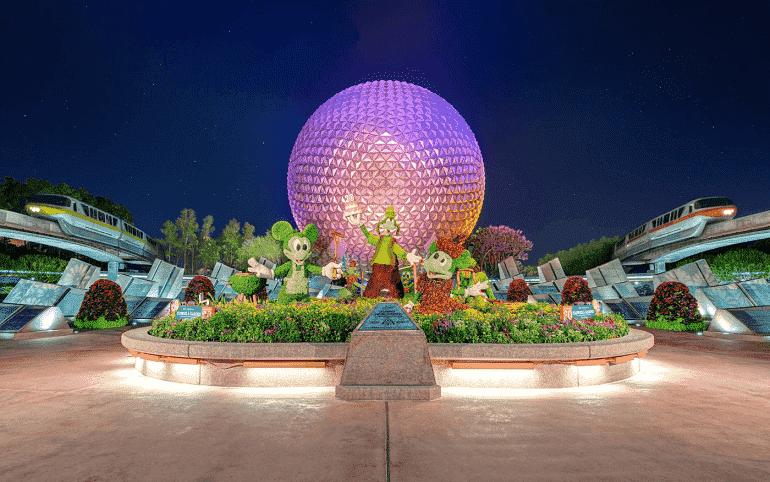 Parque Disney Epcot em Orlando