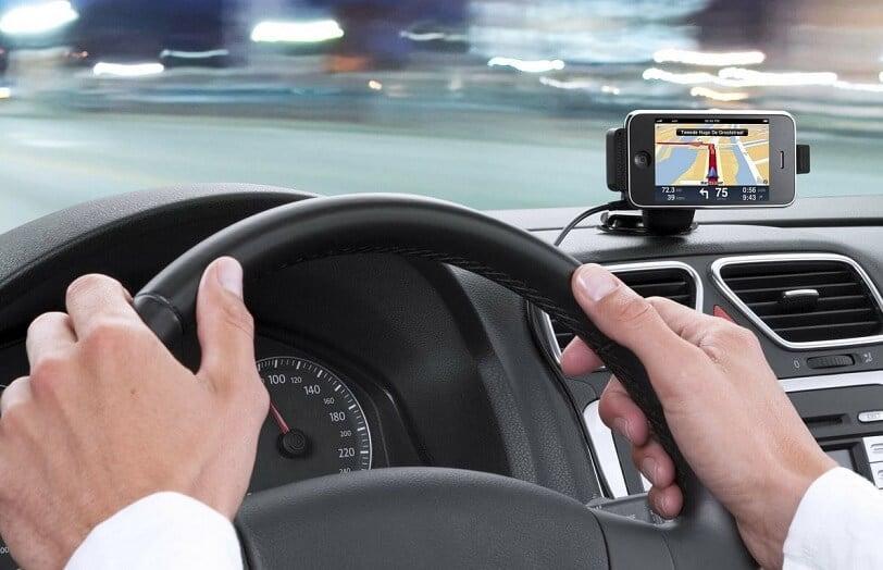 GPS no aluguel do carro em Orlando