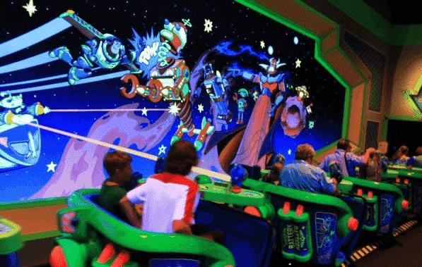 Buzz Lightyear's Space Ranger Spin na Disney
