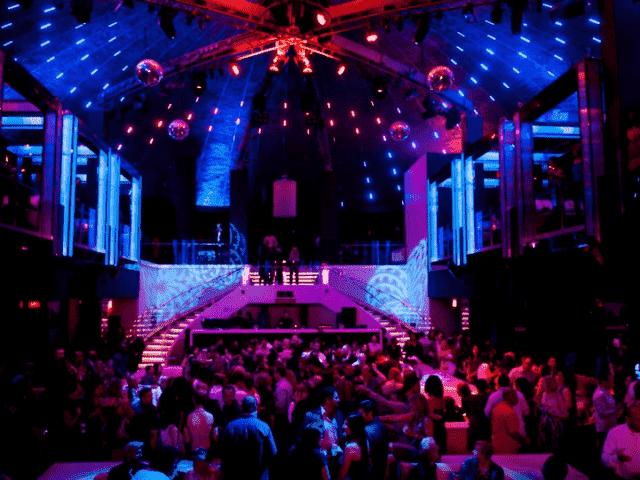 Balada LIV Night Club em Miami