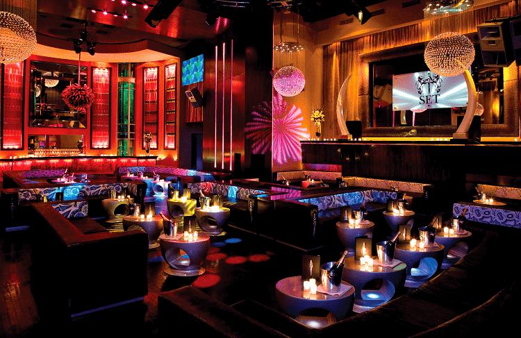 Balada SET NightClub em Miami Beach