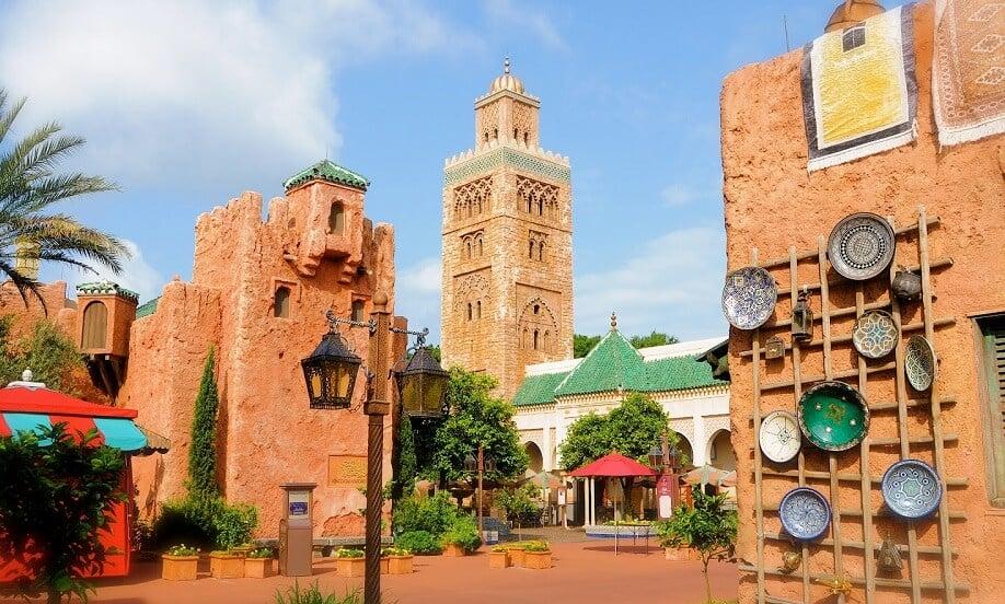 Marrocos no Epcot na Disney em Orlando