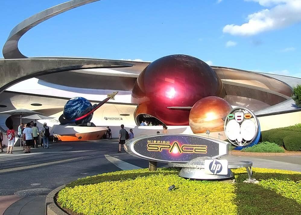 Mission Space no Epcot Disney Orlando