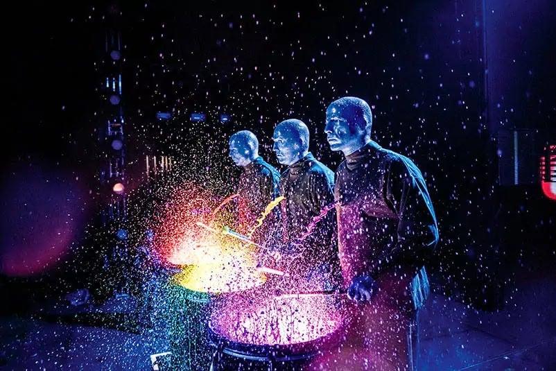 Show do Blue Man Group no CityWalk