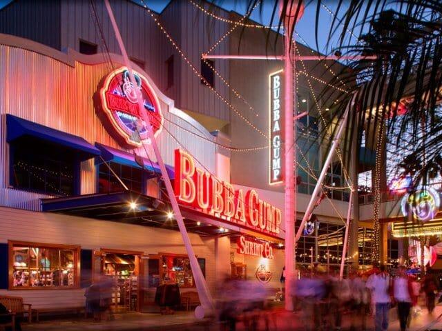 Bubba Gump Shrimp em Orlando | Restaurante do Forrest Gump