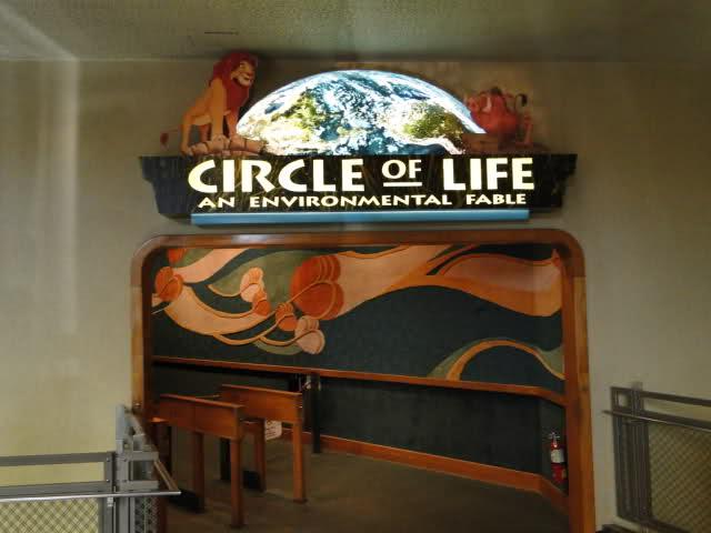 The Circle of Life no Epcot na Disney