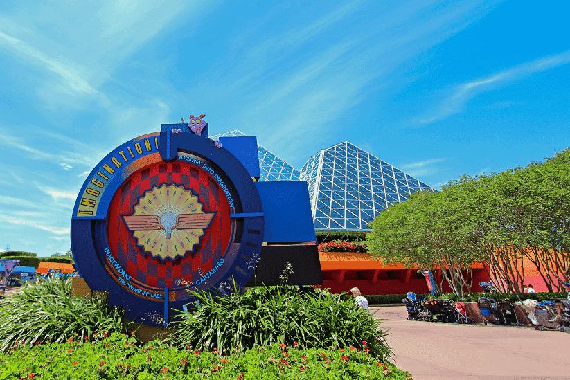 Atrações do Future World no Epcot em Orlando