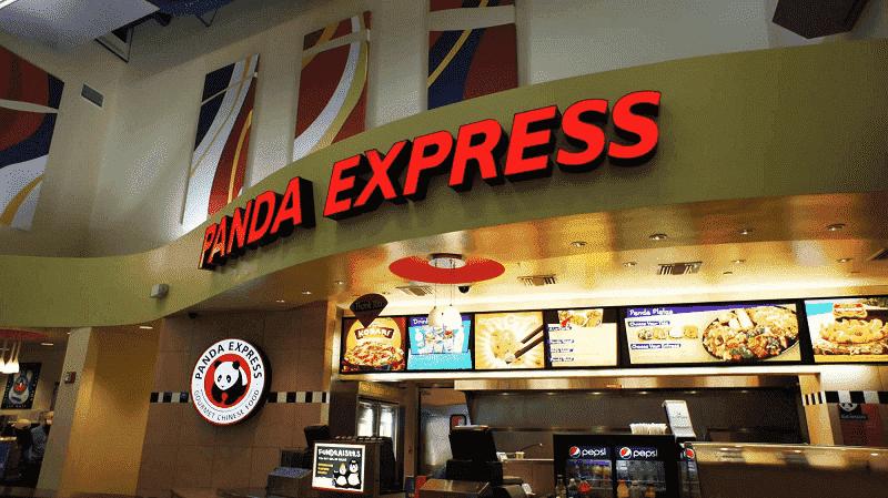 Opções de fast-food no Universal CityWalk