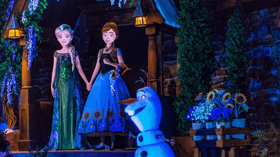 Atração Frozen Ever After no Epcot em Orlando