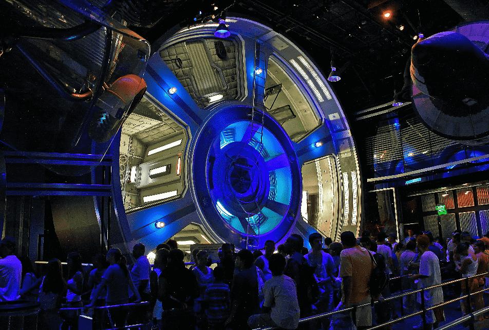Mission Space no Epcot em Orlando