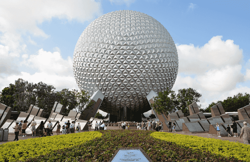 Parque Epcot da Disney em Orlando