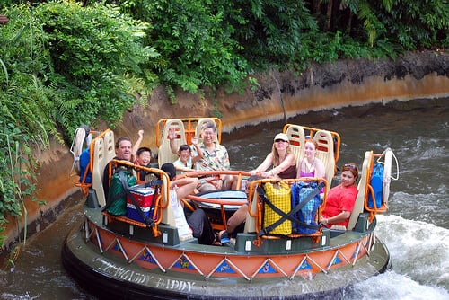 Kali River Rapids no Animal Kingdom em Orlando