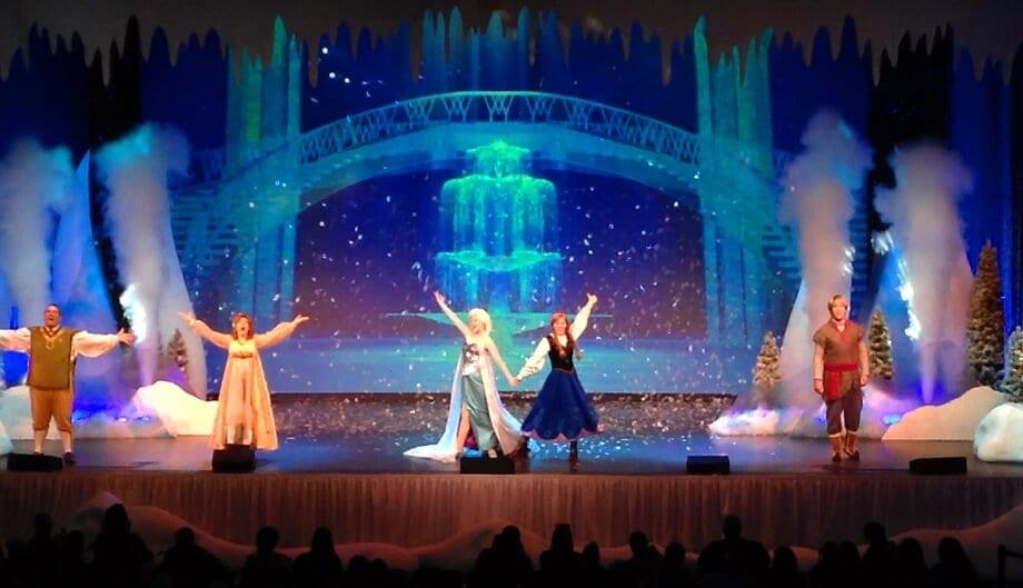Musical do Frozen no Hollywood Studios Orlando