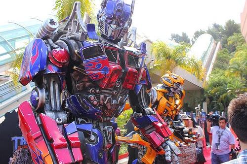 Simulador do Transformers em Orlando