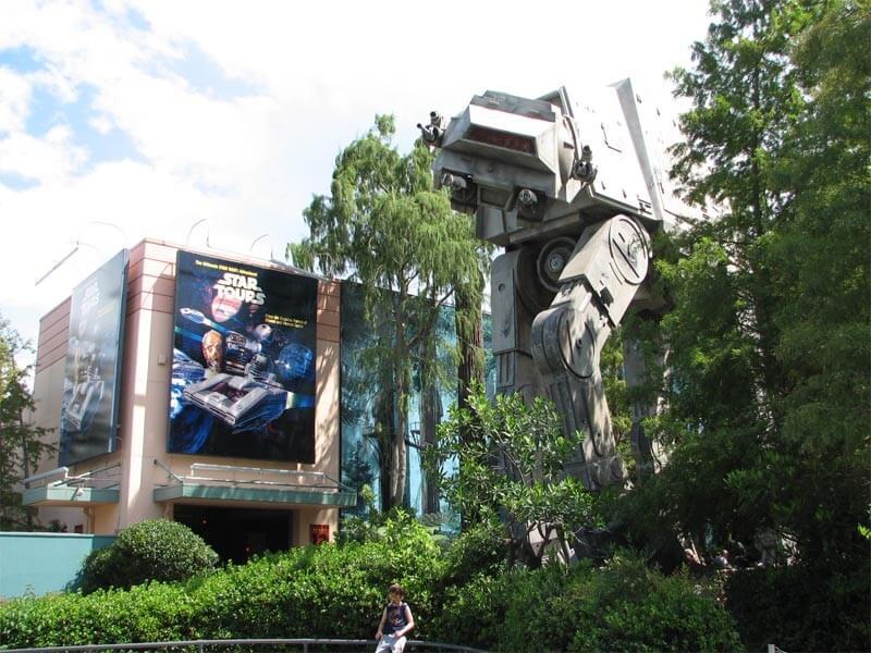 Star Tours no Hollywood Studios na Disney em Orlando