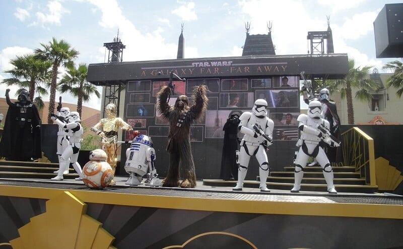 Apresentações do Star Wars no Hollywood Studio em Orlando