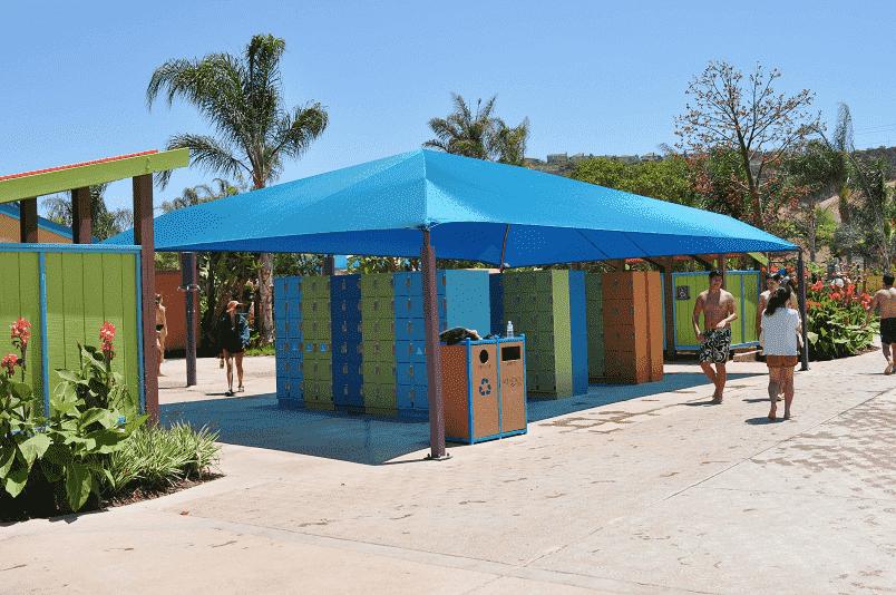Aluguel de armários no Aquatica