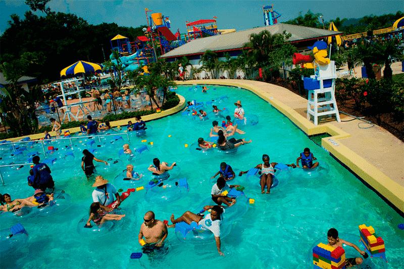Parque aquático da Lego em Orlando