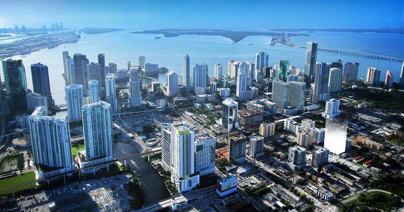 Ficar hospedado nos bairros de Downtown Miami