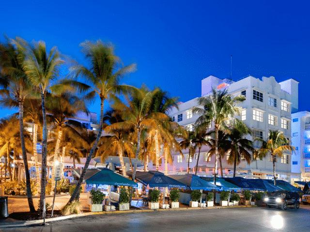 Hotel Clevelander em Miami Beach na Ocean Drive