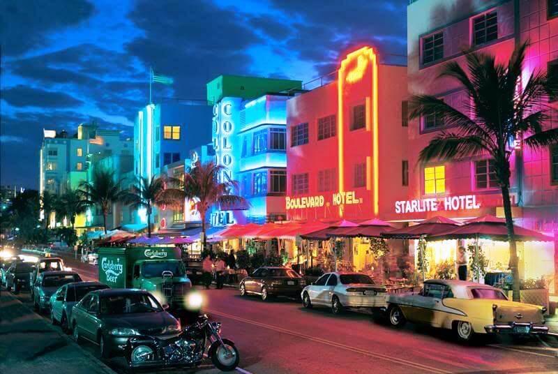 Regiões Miami Beach e South Beach