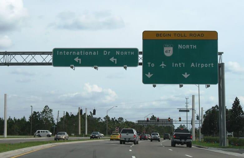 Acessos e avenidas de Orlando