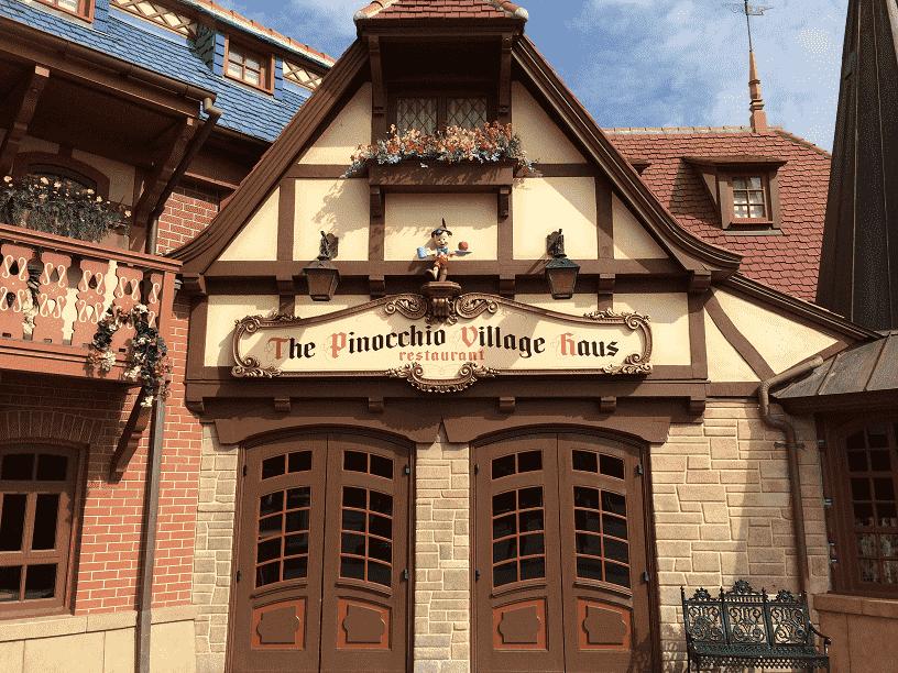 Restaurante Pinocchio Village Haus | Disney Magic Kingdom