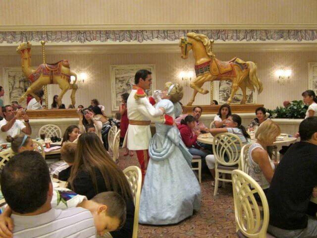 Restaurante Cinderella's Royal Table: Disney Orlando