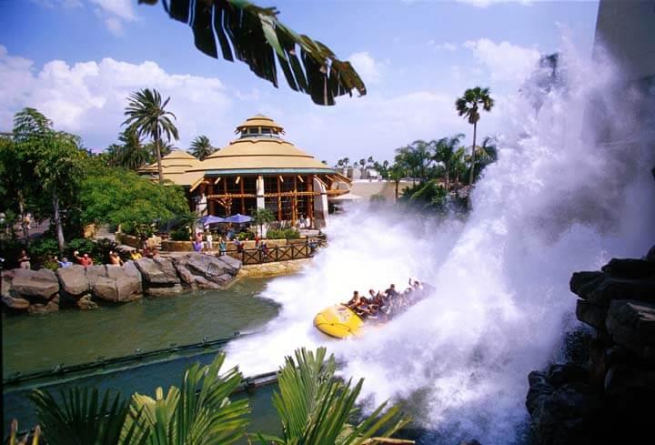 Jurassic Park no Islands of Adventure em Orlando