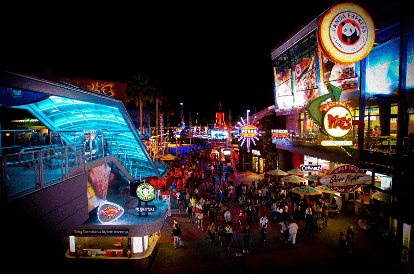 Universal CityWalk em Orlando
