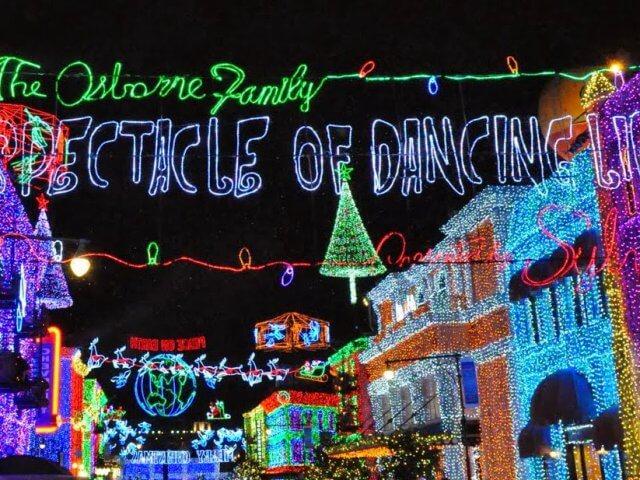 Festa de final de ano do Frozen no Disney's Hollywood Studios
