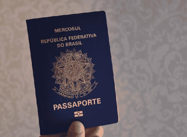 Novo passaporte brasileiro