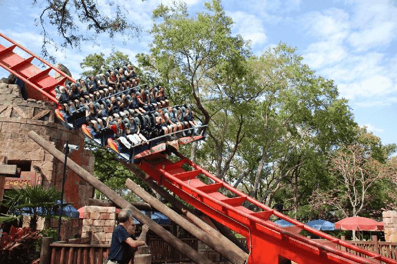 Parque Busch Gardens em Orlando