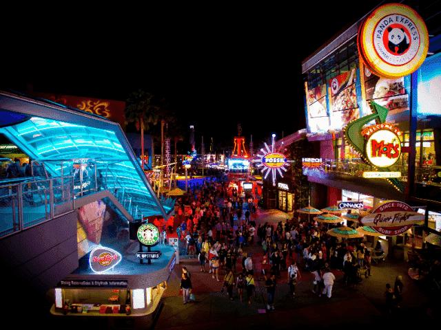 Complexo da Universal em Orlando