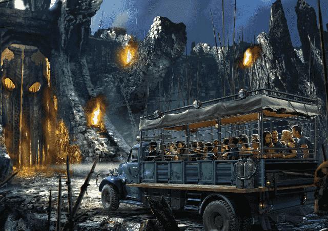 Atração do King Kong na Universal Studios em Orlando
