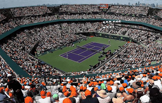 Onde comprar ingressos de jogos de tênis em Miami