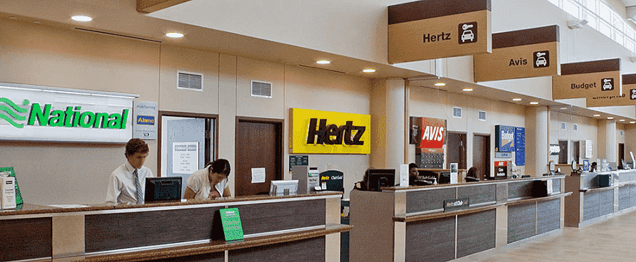 Melhores empresas de aluguel de carro no aeroporto em Orlando