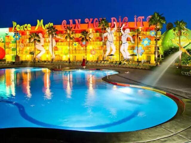 Hotel Pop Century na Disney em Orlando