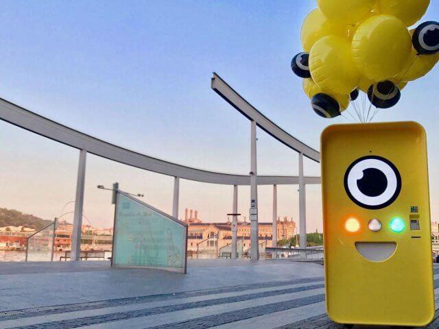 Máquinas Snapbot na Universal: óculos inteligentes que gravam o que você vê