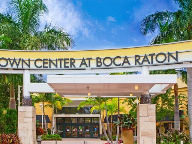 Compras em Palm Beach na Flórida