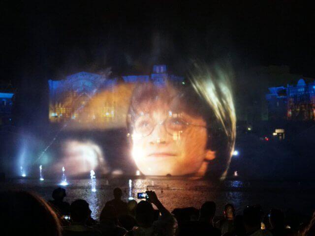 Novo show noturno da Universal: Cinematic Celebration