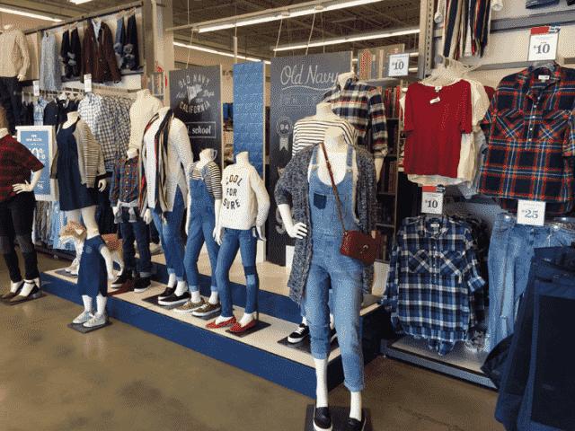 Loja de roupas Old Navy em Miami