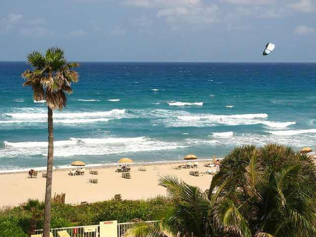 Praia de West Palm Beach