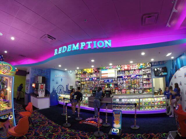 Jogos e videogames do Arcade City no Icon Orlando 360
