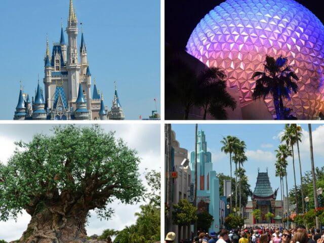 Os quatro parques da Disney em Orlando