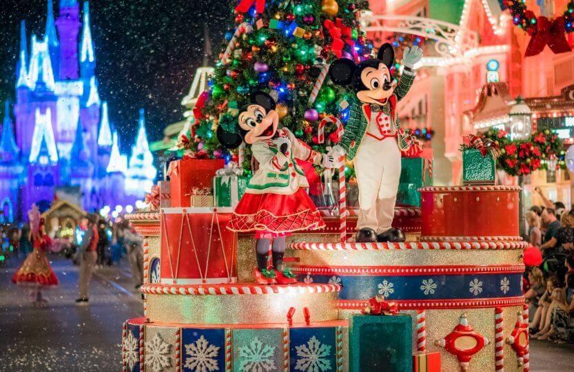 Festa de Natal Mickey's Very Merry Christmas Party da Disney