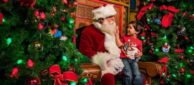 Como encontrar o Papai Noel na Disney em Orlando