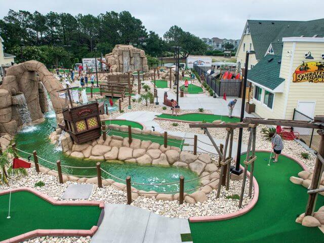 Clube de golfe Pirate's Island Adventure Golf na Flórida