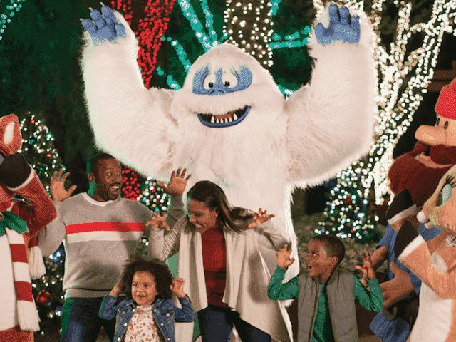Natal no Busch Gardens: Christmas Town