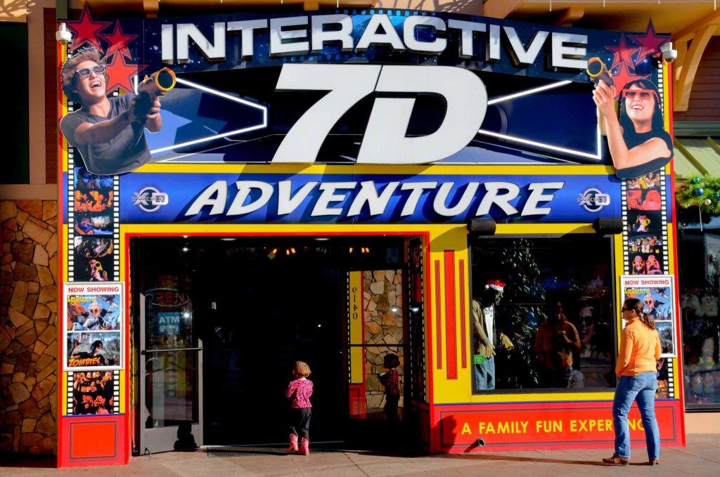 7D Dark Ride Adventure no ICON Orlando